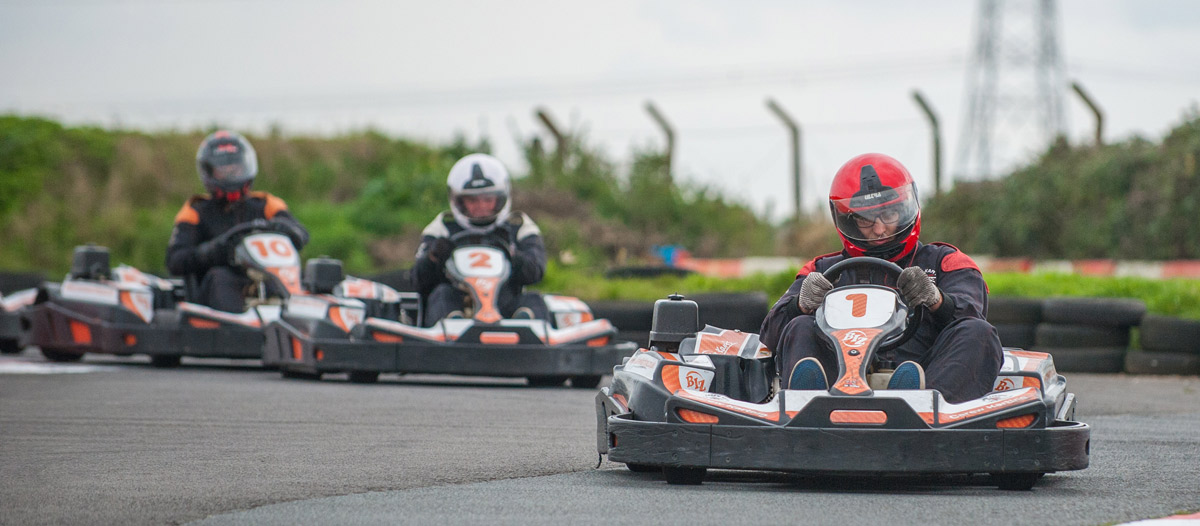 outdoor Karting in Pembrokeshire